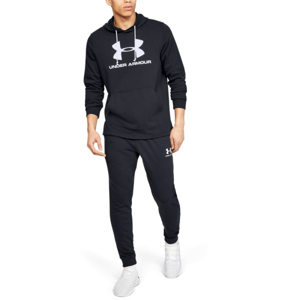 Moški pulover UNDER ARMOUR SPORTSTYLE TERRY LOGO HOODIE
