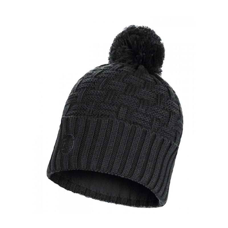BUFF KNITTED & POLAR HAT SAVVA GREY CAST